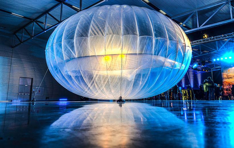 بالونهای اینترنتی گوگل، زمین را احاطه میکنند
